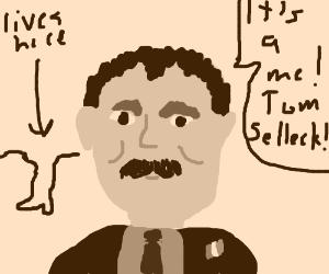 Itallian Tom Selleck