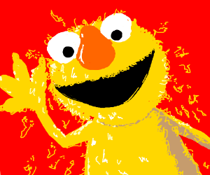 yellow elmo