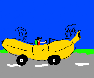 Everyone's favorite Banana Car!