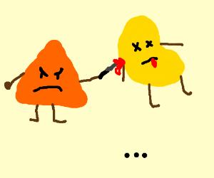 A Dorito killed a Pringle (Part 1: to be cont)