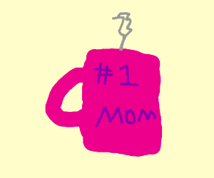 coffee cup: #1 MOM