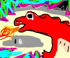 Dragon On Drugs Drawception