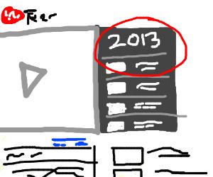 2013 Playlist on Youtube