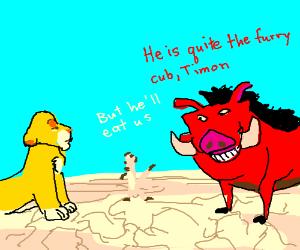 furry simba