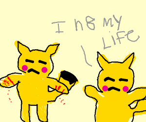 Crippling Depression and Pikachu Offspring
