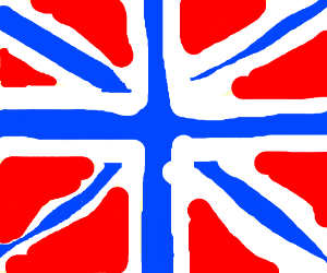 Reversed British flag or offset Norway flag