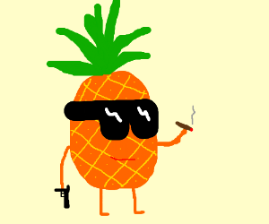 gangster pineapple drawception