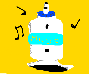 Mayonnaise is an instrument