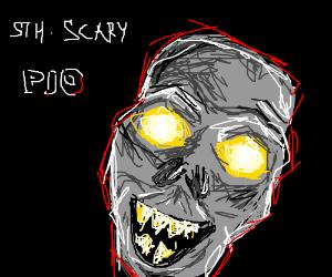 Draw something scary PIO