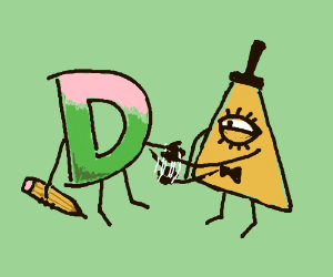 Drawception makes a deal with Bill Cipher