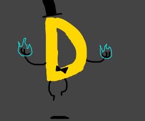 bill as D (gravity falls)