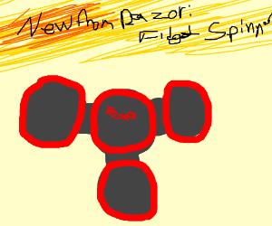 Razor Fidget Spinner