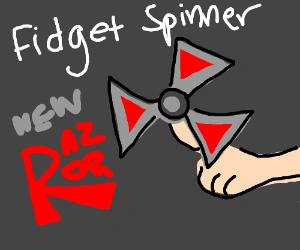 New fidget spinner razor