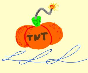 Dynamite pumpkin