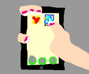 Drawception mobile app