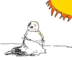 Holiday Blues and Depression - Depression: Depression ...  |Sad Melting Snowman