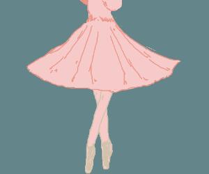 Ballerina foot.