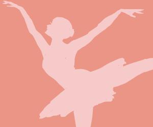 Ballerina Practicing Footing