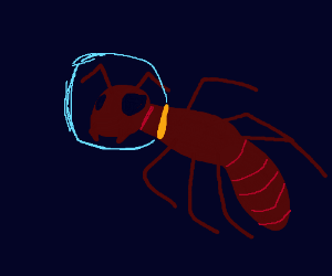 SPACE ANT!