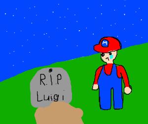 It S A Stone Luigi You Didn T Make It Drawception
