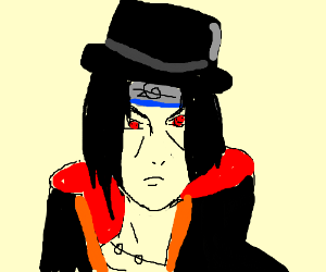 Favourite fictional character but with top hat