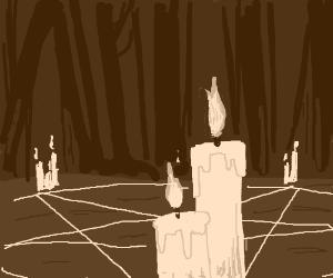 Satanic Candle
