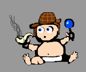 Sherlock Holmes Baby