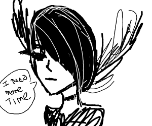Emo troll wants more time