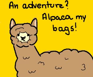 Terrible animal pun