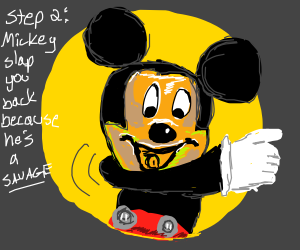 Step 1: Slap Mickey