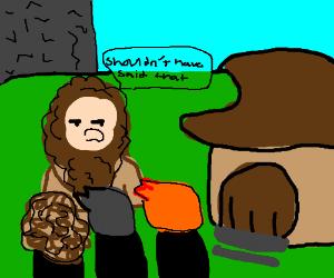 Shouldn't have said that.. - Hagrid