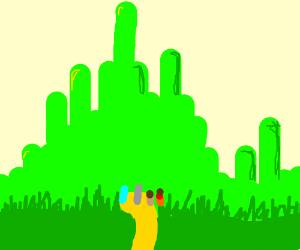 wizard of oz in emerald city