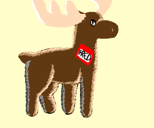 Fred, the Moose