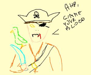 A vamire pirate