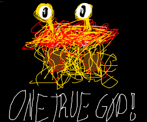 flying spaghetti monster is our one true god
