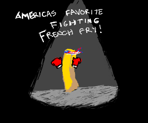 America's favorite fighting french fry