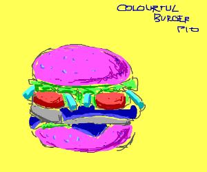 Colorful Burger, PIO