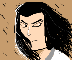 Samurai Jack With Long Hair