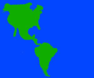 North+South America