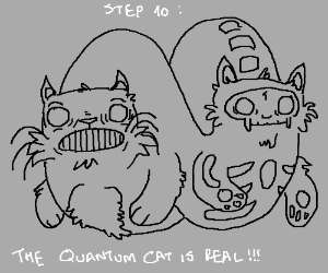 Step 9: the cat is a lie!!!!!!!