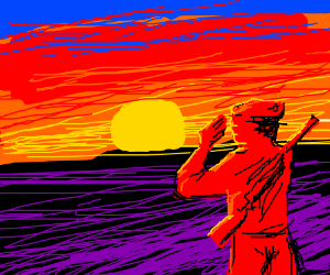 sun salutation  drawception