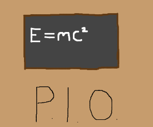 E=mc squared PIO