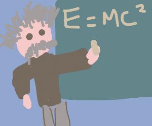 Einstein Discovers That E=MC2