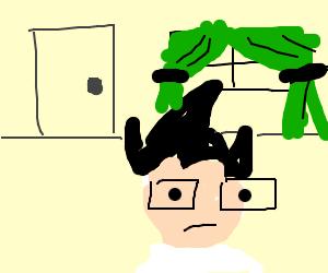 Homestuck guy in room