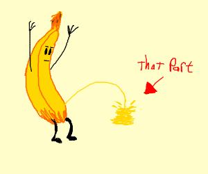 banana its pee