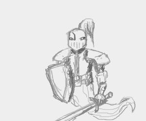 A ghost knight