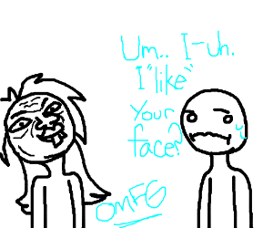 """I """"like"""" your face"""