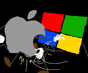 Windows kicking Apple's Butt