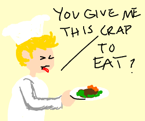 Gordon Ramsay is astonished at your cooking