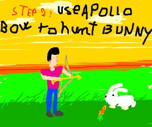 Step 1: Capture The Greek God Apollo